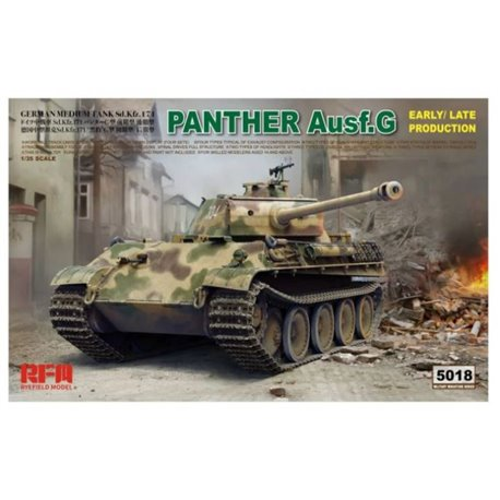 RYE FIELD MODEL RM-5018 1/35 Panther Ausf.G Early / Late Production