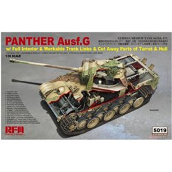 RYE FIELD MODEL RM-5019 1/35 Panther Ausf.G w/ Full Interior & Work Track Links