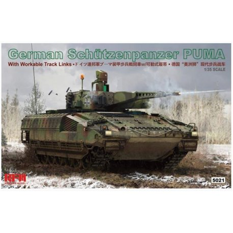 RYE FIELD MODEL RM-5021 1/35 German Schützenpanzer Puma