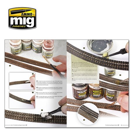 AMMO BY MIG A.MIG-6130 How To Paint IDF Tanks Weathering Guide Français