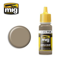 AMMO BY MIG A.MIG-0114 Acrylic Color Zimmerit Ochre 17ml