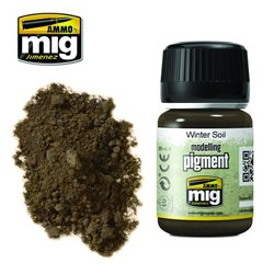 AMMO BY MIG A.MIG-3029 Pigment Winter Soil 35ml