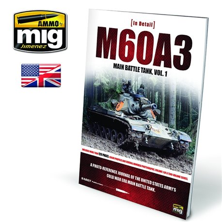 AMMO BY MIG A.MIG-5953 M60A3 Main Battle Tank Vol 1 Anglais