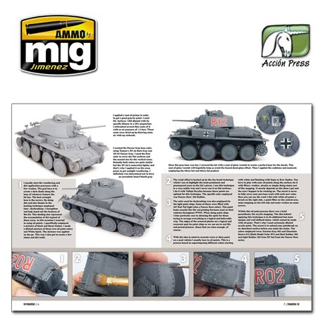 AMMO BY MIG PANZ0058 Panzer Aces Armour Modelling Magazine Nº58 Anglais