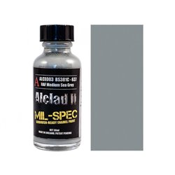 ALCLAD II Lacquers ALCE003 BS381C-637 RAF Medium Sea Grey 30ml