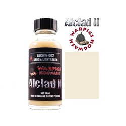 ALCLAD II Lacquers ALCHW-002 Washes Warpigs Hogwash Sand and Light Earth 30ml