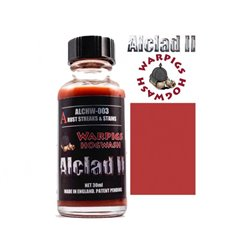 ALCLAD II Lacquers ALCHW-003 Washes Warpigs Hogwash Rust Streak and Stains 30ml