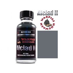 ALCLAD II Lacquers ALCHW-004 Washes Warpigs Hogwash Dark Streaks and Stains 30ml