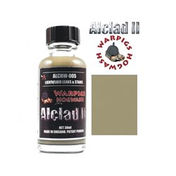 ALCLAD II Lacquers ALCHW-005 Washes Warpigs Hogwash Light Fluid Leaks and Stains 30ml