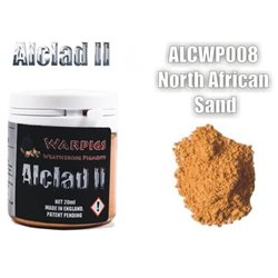 ALCLAD II Lacquers ALCWP008 Weathering Pigments Warpigs North African Sand 20ml