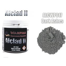 ALCLAD II Lacquers ALCWP017 Weathering Pigments Warpigs Dark Ashes 20ml