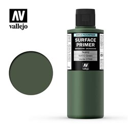 VALLEJO 74.612 Mopdel Color Surface Primer NATO Green FS34094 200ml