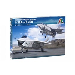 ITALERI 1419 1/72 Joint Strike Fighter program X-32A and X-35B