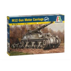 ITALERI 7076 1/72 M12 Motor Gun Carriage