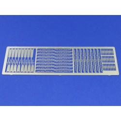FALLER 180970 HO 1/87 9 Plastic barrels