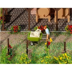 FALLER 180975 HO 1/87 Brouette - Wheelbarrow