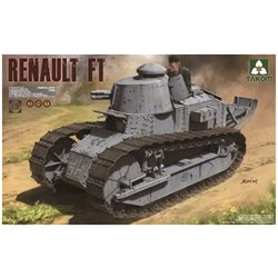 TAKOM 1004 1/16 French Light Tank Renault FT-17 (3 in 1)