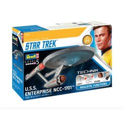 REVELL 00454 1/600 Star Trek (TOS) USS Enterprise NCC-1701
