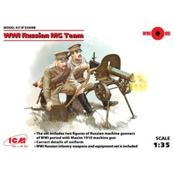 ICM 35698 1/35 WWI Russian Maxim MG Team
