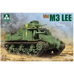TAKOM 2089 1/35 US Medium Tank M3 Lee (Mid)