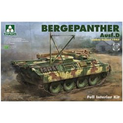 TAKOM 2102 1/35 Bergepanther Ausf. D Umbau Seibert 1945