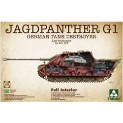 TAKOM 2106 1/35 German Tank Destroyer Jagdpanther G1 Late production