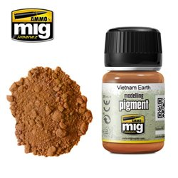 AMMO BY MIG A.MIG-3022 Pigment Terre Vietnam - Vietnam Earth 35ml