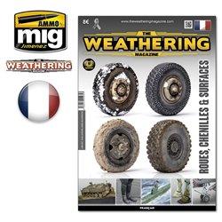 AMMO BY MIG A.MIG-4274 Weathering Magazine 25 Roues Chenilles Surfaces Fr