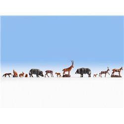 NOCH 36745 N 1/160 Animaux Forestiers – Forest Animals