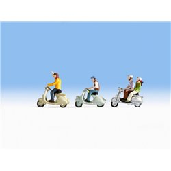NOCH 36910 N 1/160 Conducteurs de Scooter – Scooter Drivers
