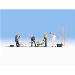 NOCH 45055 TT 1/120 Maçons – Bricklayers