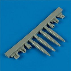 Quick Boost QB 32 107 1/32 Spitfire Mk.IXe gun barrels for Tamiya