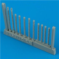 Quick Boost QB 48 104 1/48 B-26 Marauder gun barrels For Revell Bausatz