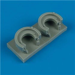 Quick Boost QB 48 358 1/48 Bf 110 oil tanks for Cyber Hobby