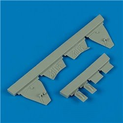 Quick Boost QB 48 399 1/48 J2M3 Raiden undercarriage covers for Hasegawa