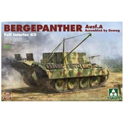 TAKOM 2101 1/35 Bergepanther Ausf. A Assembled by Demag