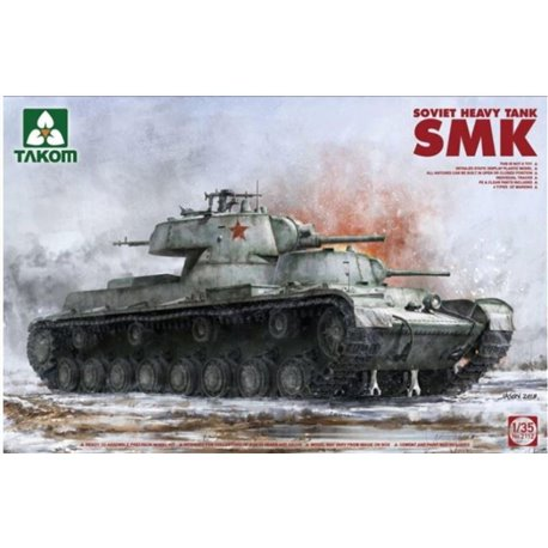 TAKOM 2112 1/35 Soviet Heavy Tank SMK