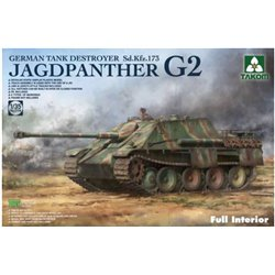 TAKOM 2118 1/35 Jagdpanther G2 Sd.Kfz. 173 Full Interior