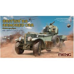 MENG VS-010 1/35 British Rolls-Royce Armoured Car Pattern 1914/1920