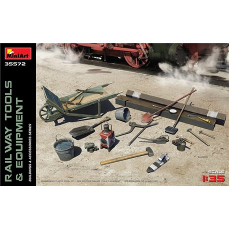 MINIART 35572 1/35 Railway Accessories & Tools