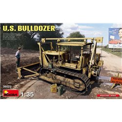 MINIART 38022 1/35 U.S. Bulldozer with Jerry Cans