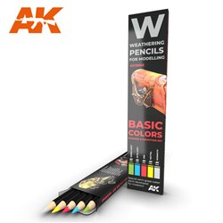 AK INTERACTIVE AK10045 Watercolor Pencil Set Basics