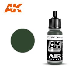 AK Interactive AK2273 WWI GERMAN VERT FONCE - DARK GREEN 17ML