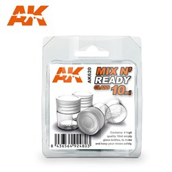 AK Interactive AK620 MIX N' READY GLASS 10ML