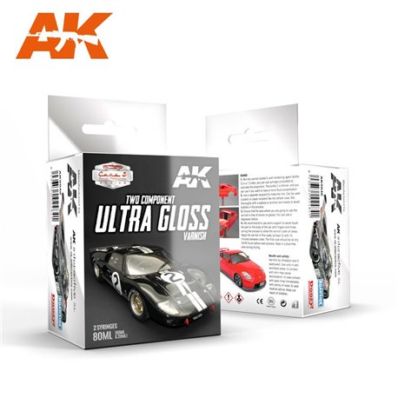 AK Interactive AK9040 ULTRA GLOSS VARNISH