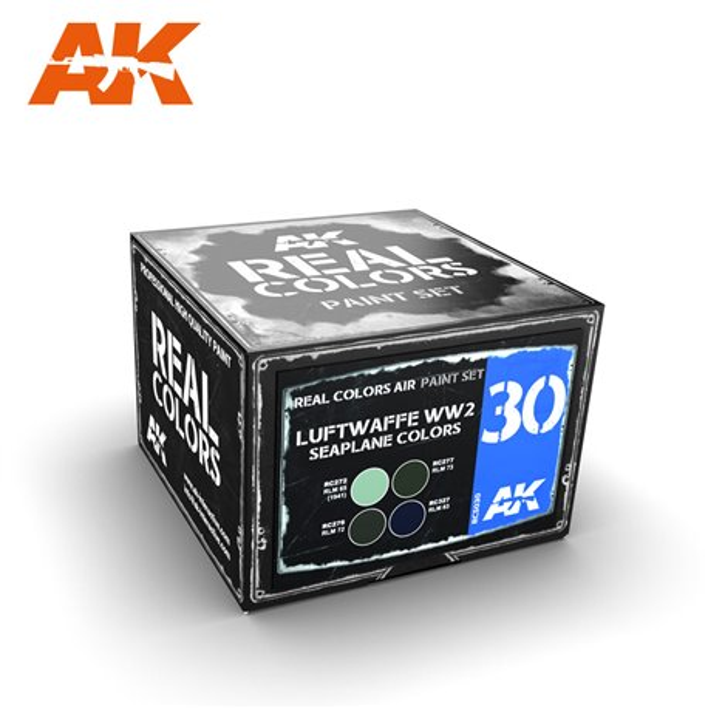 AK Interactive RCS030 LUFTWAFFE WW2 SEAPLANE COLORS
