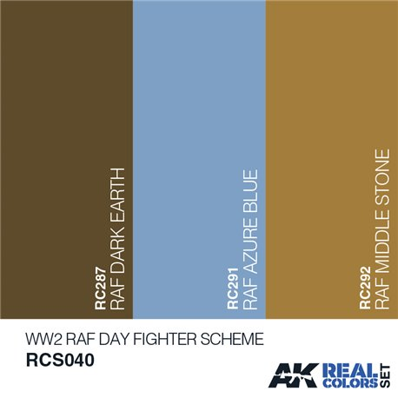 AK Interactive RCS040 WW2 RAF DESERT COLORS