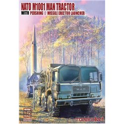 MODELCOLLECT UA72084 1/72 NATO M1001 MAN Tractor with Pershing II