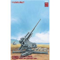 MODELCOLLECT UA72094 1/72 German 128mm Flak 40 Heavy Anti-Aircraft Gun