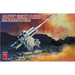 MODELCOLLECT UA72101 1/72 German 128mm Flak 40 Heavy Anti-Aircraft Gun Type 2